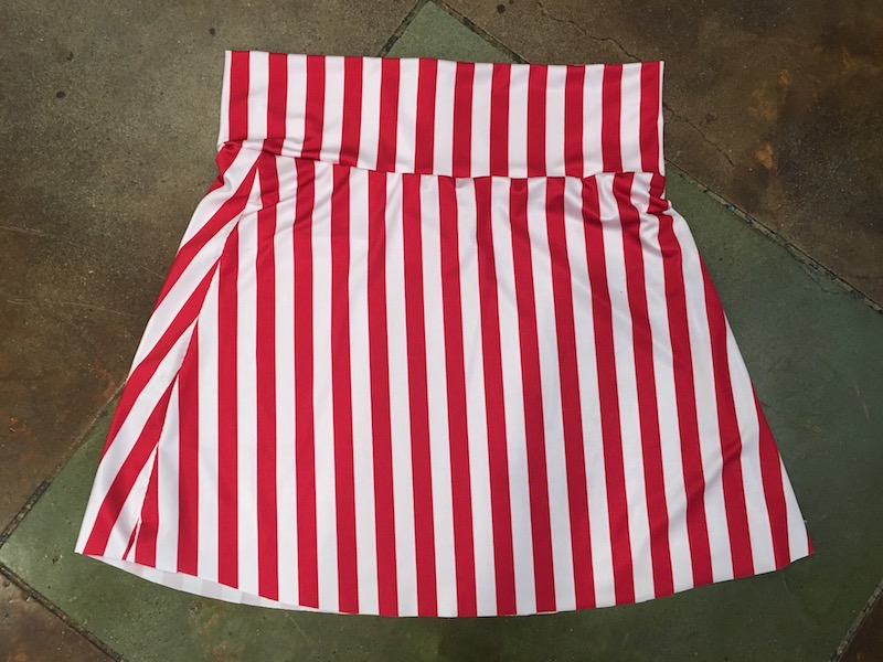 Walt Disney World Trader Sam costume fold down skirt