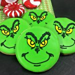 Disturbingly Charming Grinch Cookies for Christmas