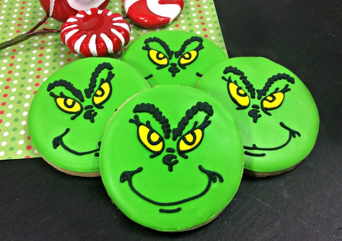 Disturbingly Charming Grinch Cookies For Christmas Redhead Baby