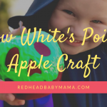 You'll Die Over This Magical Snow White Poison Apple Prop