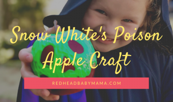 Snow White Poison Apple Prop craft