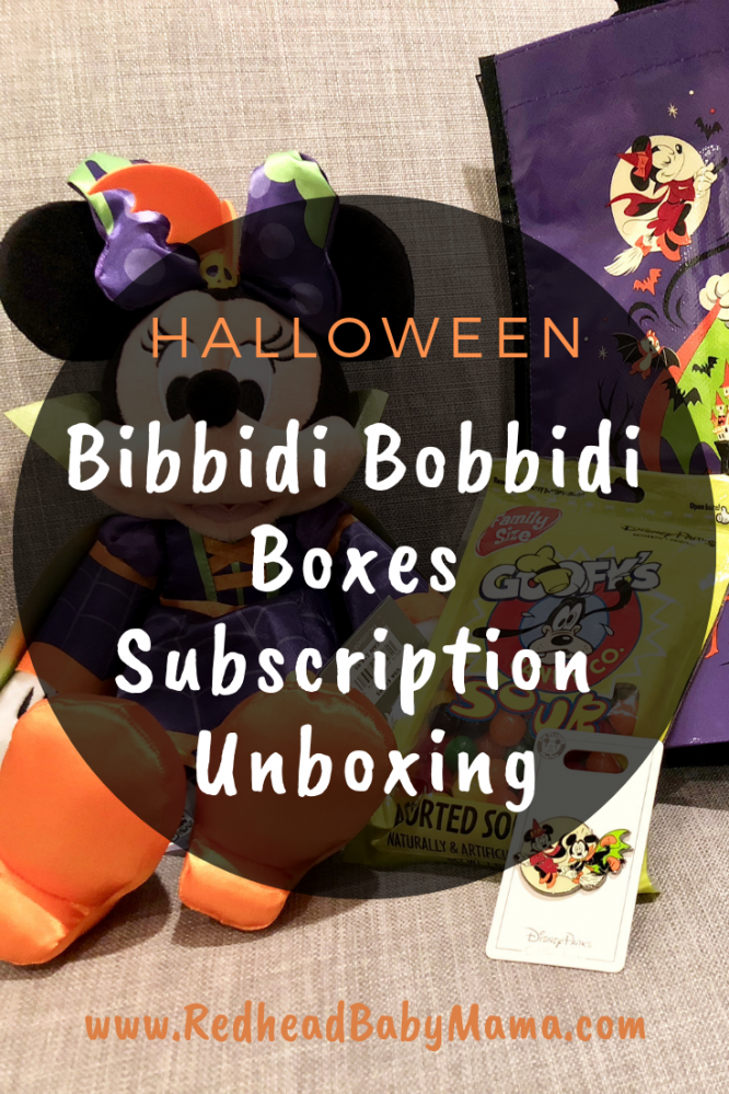 VIDEO UNBOXING: Check out my Bibbidi Bobbidi Boxes Halloween Subscription box. I loved having the magic curated and delivered right to me! AD