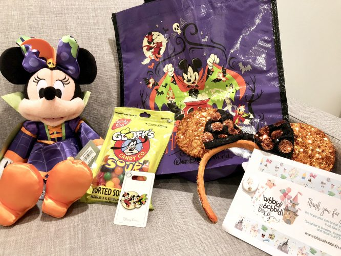 Halloween disney parks merchandise