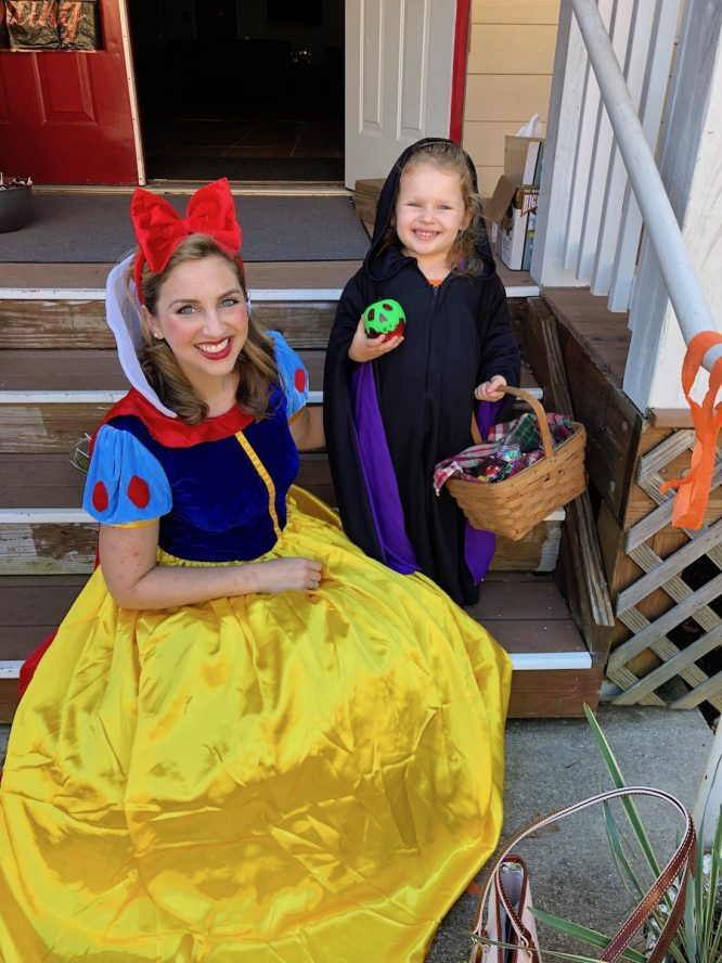 Old Hag Snow White family Costume