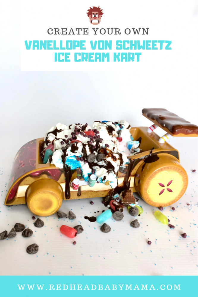 Ralph and Vanellope von Schweetz must navigate the world wide web to save Sugar Rush. Do you have what it takes to eat Vanellope's Kart Ice Cream Sundae?