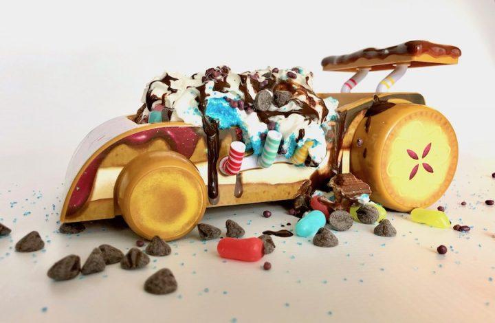 Celebrate Ralph Breaks the Internet with Vanellope's Kart Ice Cream Sundae