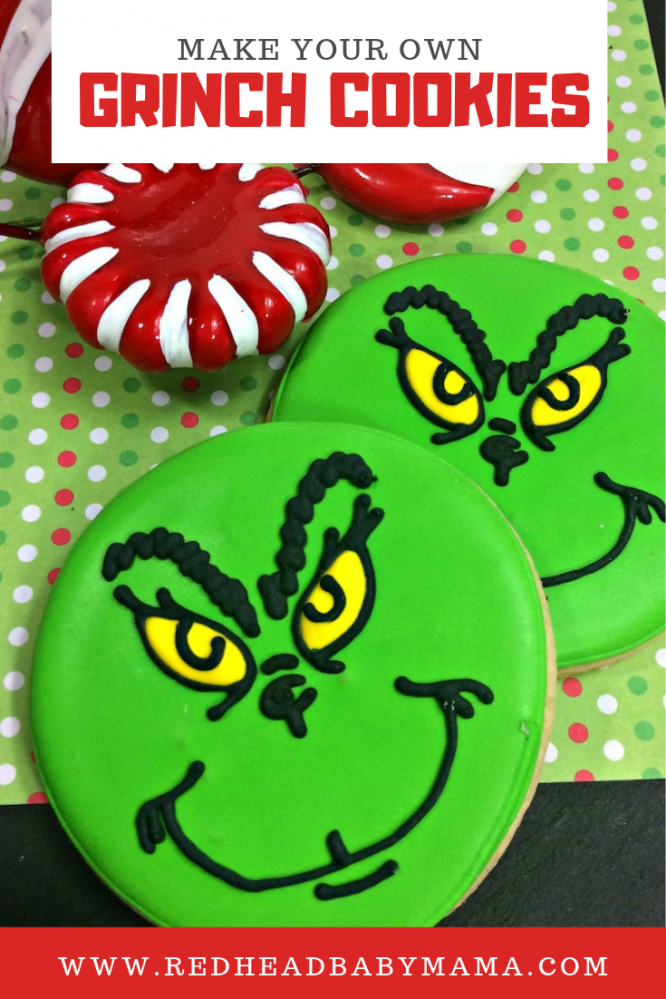 Grinch who stole christmas cookies