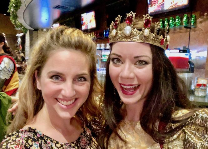 medieval times atlanta queen selfie