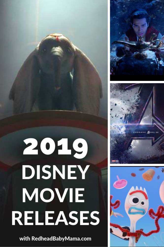 2019 Disney Theatrical Movie Releases