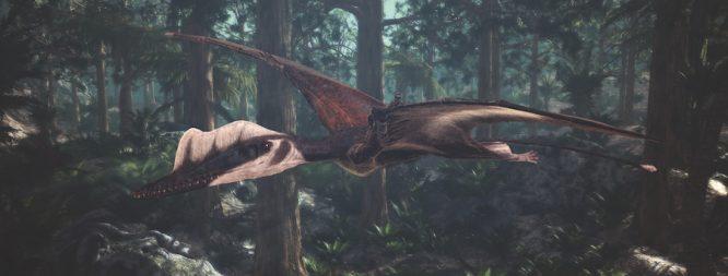 pterosaurs at Fernbank Atlanta