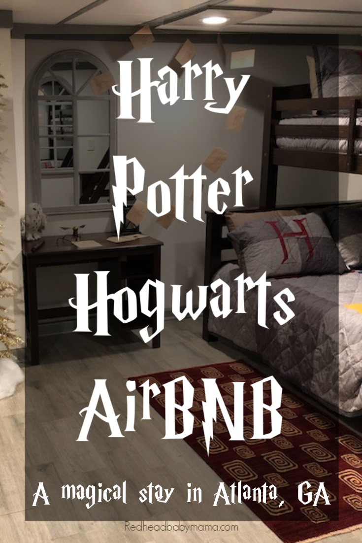 Harry Potter Hogwarts Air BNB Wizard Hotel
