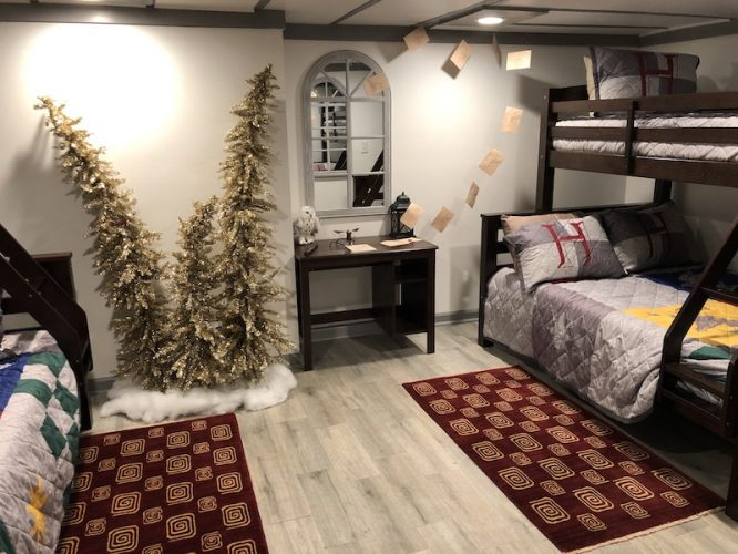 harry potter hogwarts airbnb atlanta bedroom