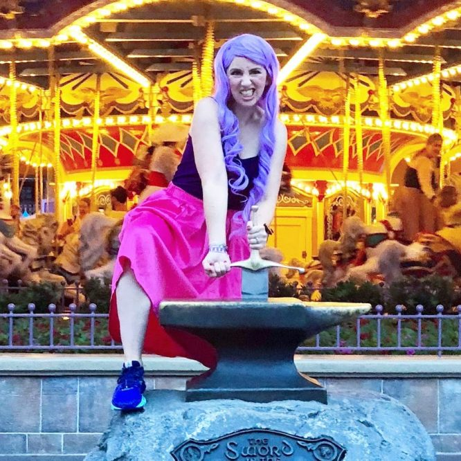 Mad Madame Mim Halloween Costume Disneybound