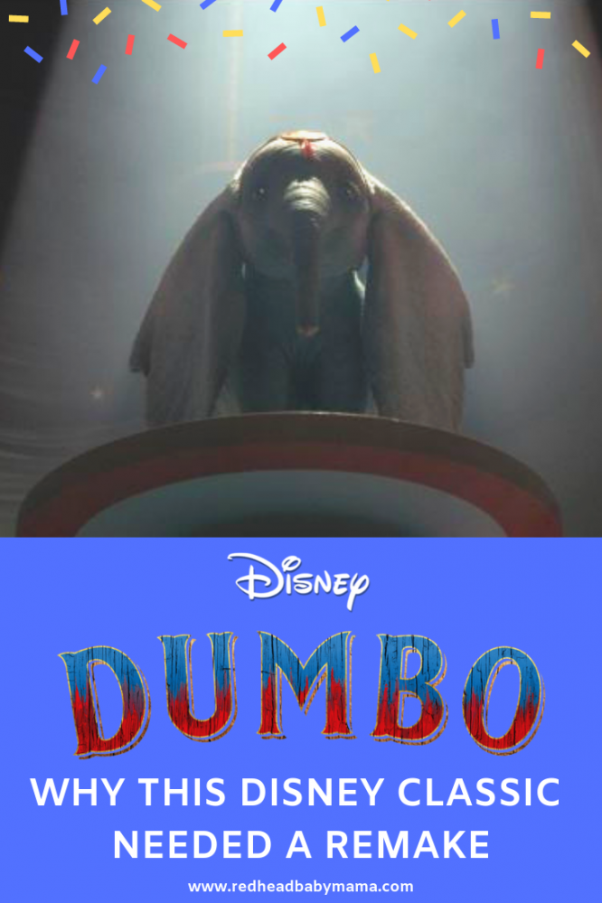 Dumbo Review and why they should have remade it