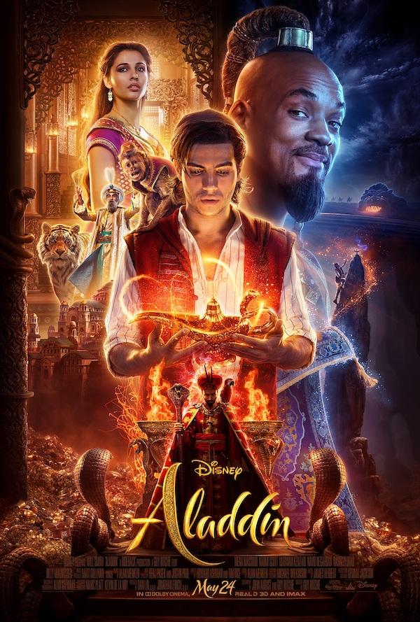 Disney ALADDIN Live ACtion Poster