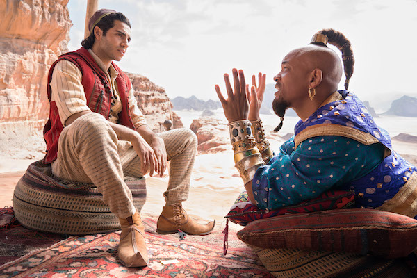 Disney Aladdin Live Action with Will Smith as the Genie