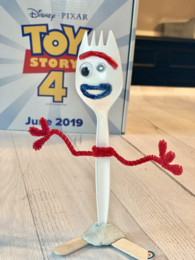 Forky Full size craft