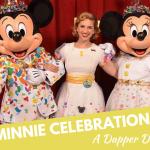 Minnie Celebration Dress, a Dapper Disneybound!