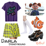 Darla Disneybound from Finding Nemo