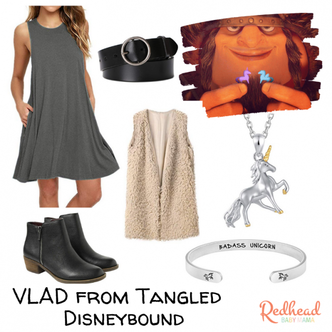Viking Vladimir from Tangled Disneybound
