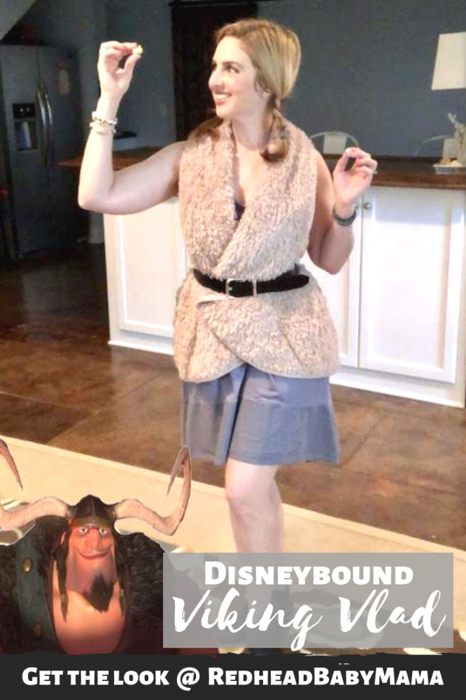 Viking Vladimir from Tangled Disneybound pinable image
