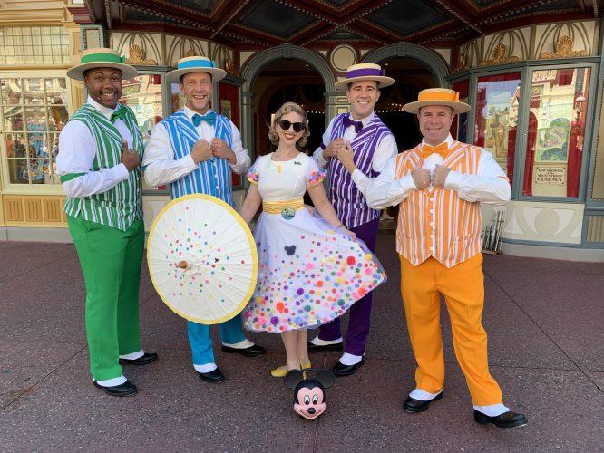 Dapper Dans and my Minnie birthday Disneybound