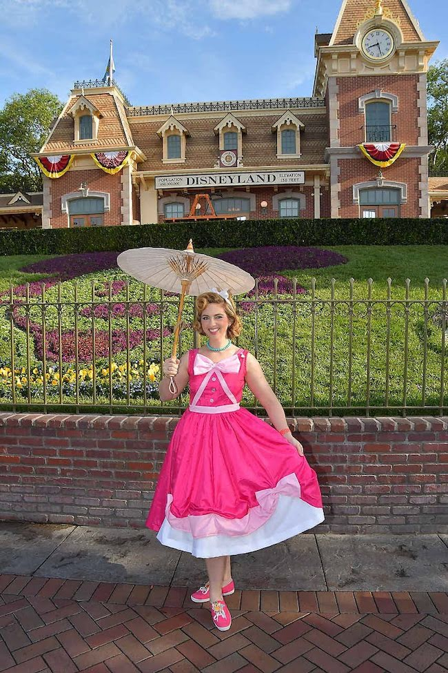 Pink Cinderella Dress for Dapper Day Disneybound