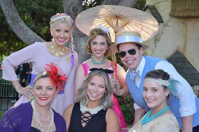 Dapper Day Princess Disney bounds - group costume