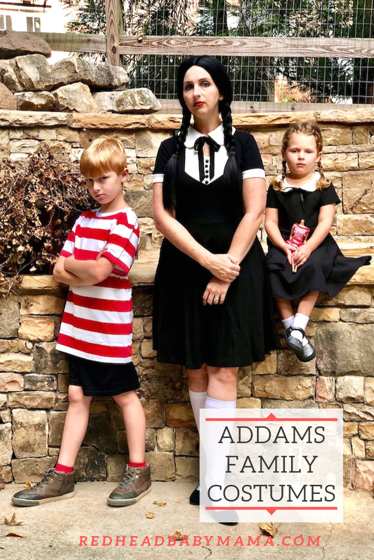 The Addams Family - Family Costumes
