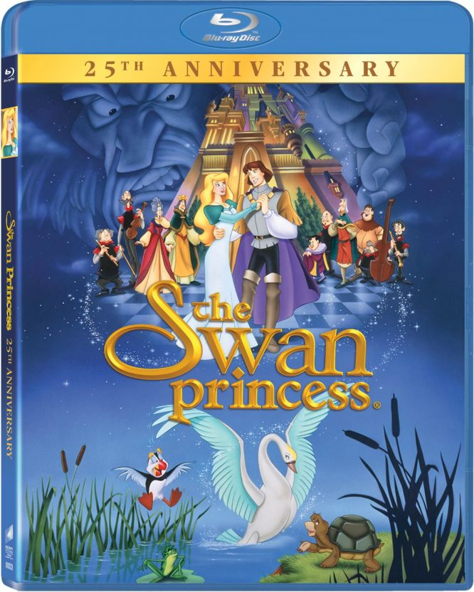 The Swan Princess 25th anniversary DVD cover