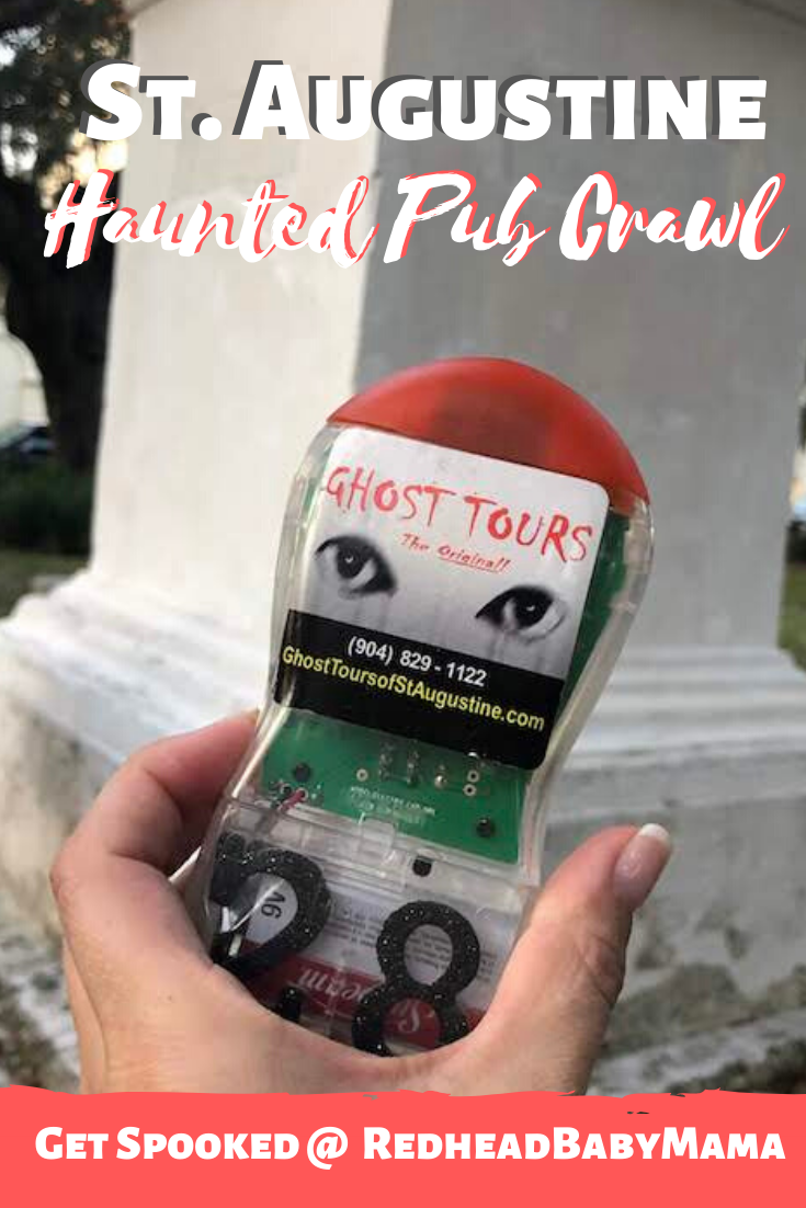 Saint Augustine Haunted Pub Crawl