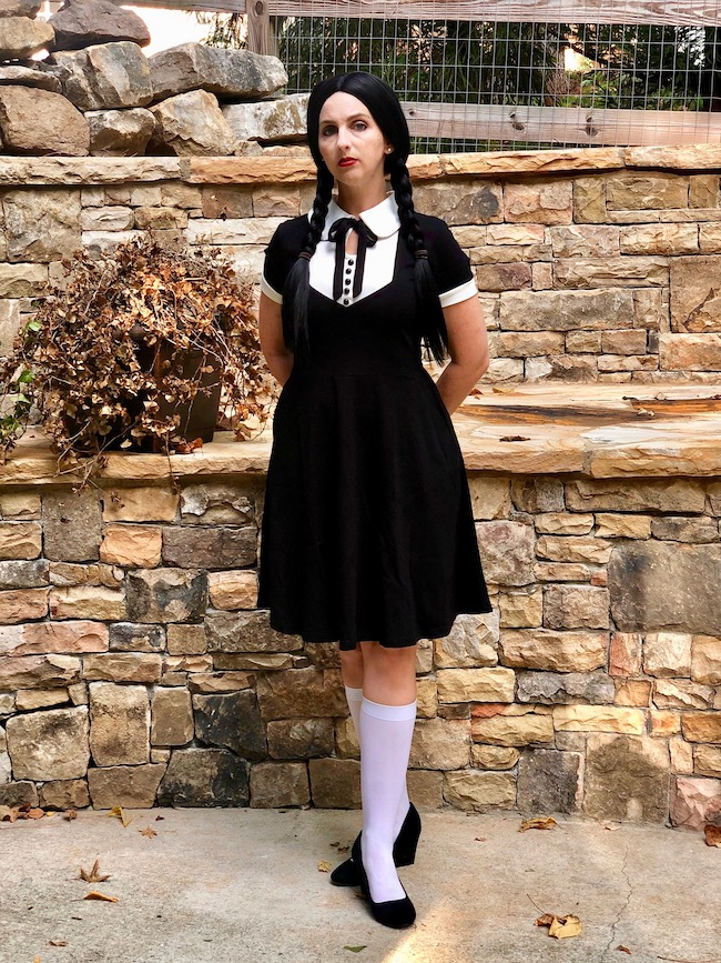 Adult Wednesday Addams Costume DIY
