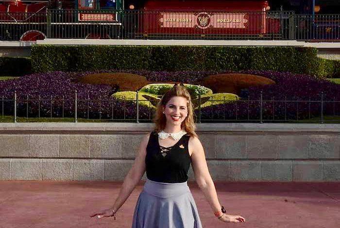 Disneybound as Briar Rose Aurora Sleeping Beauty