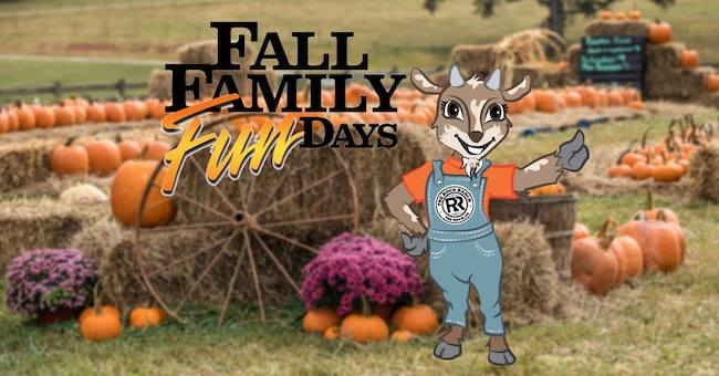Fall Family Days at The Rock Ranch