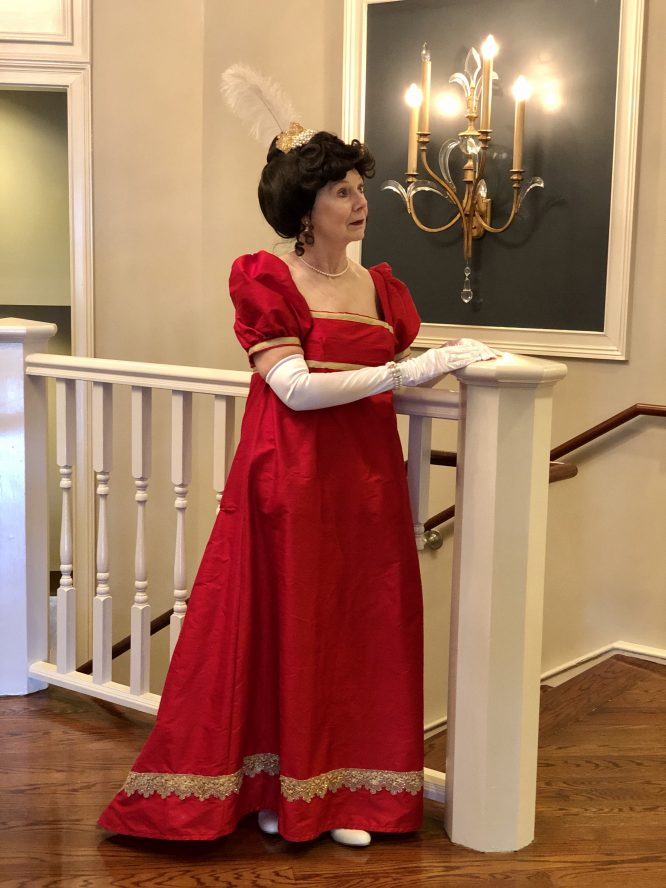 Dolley Madison dress hero