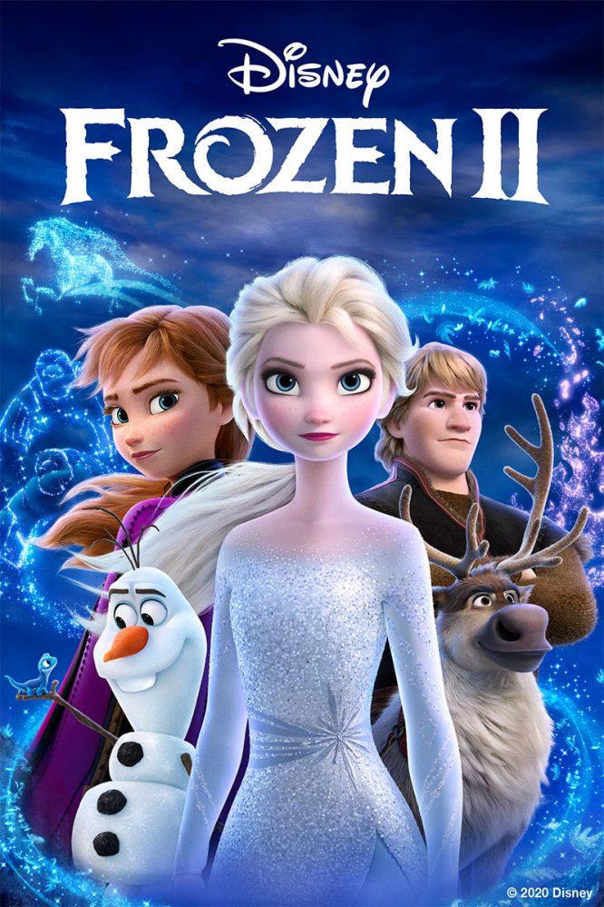 Frozen 2 on DVD