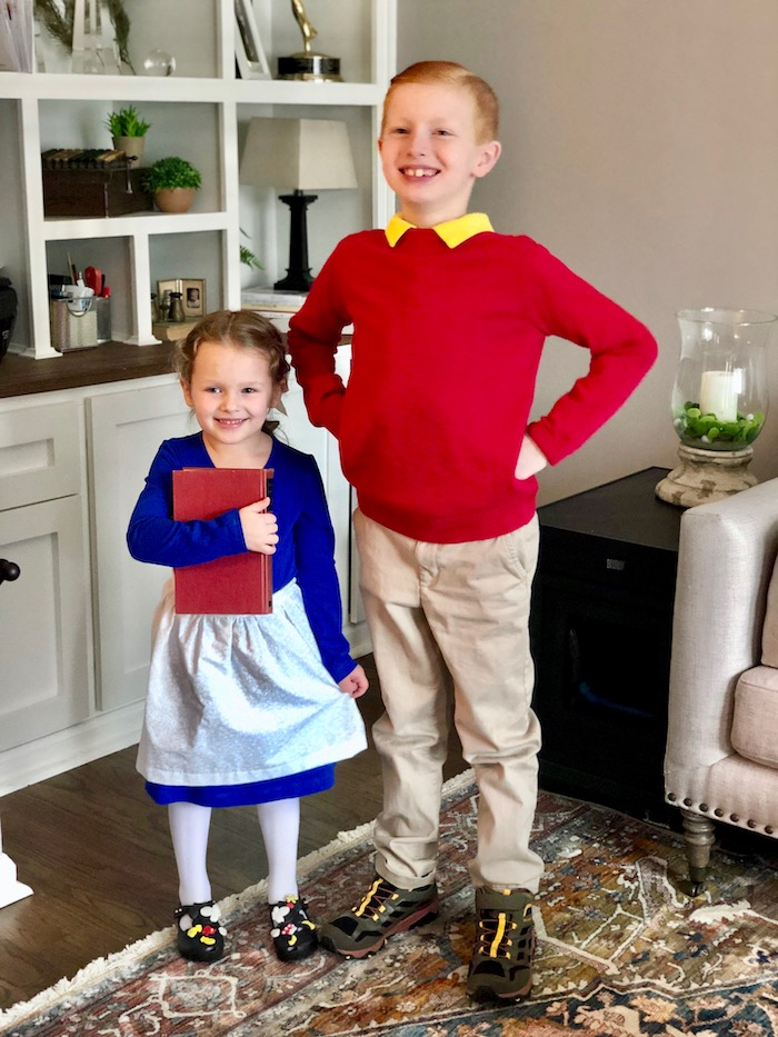 Beauty and the Beast Disneybound for Kids: Belle and Gaston