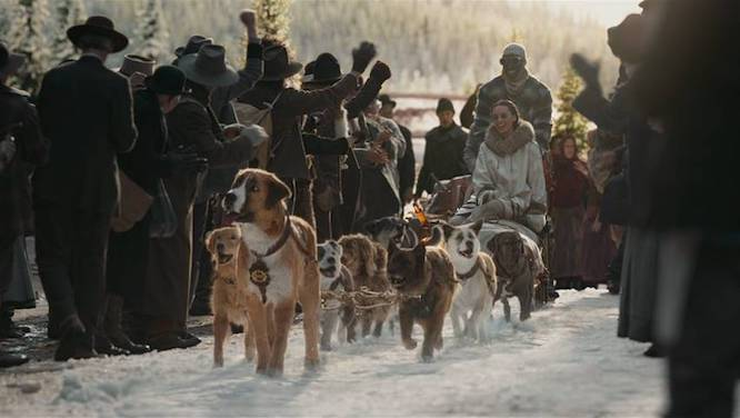 DIsney Call of the Wild sled team