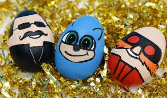 finished sonic hedgehog easter eggs