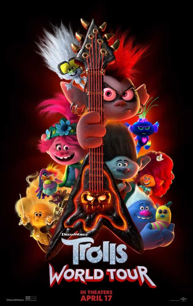 trolls world tour movie at home