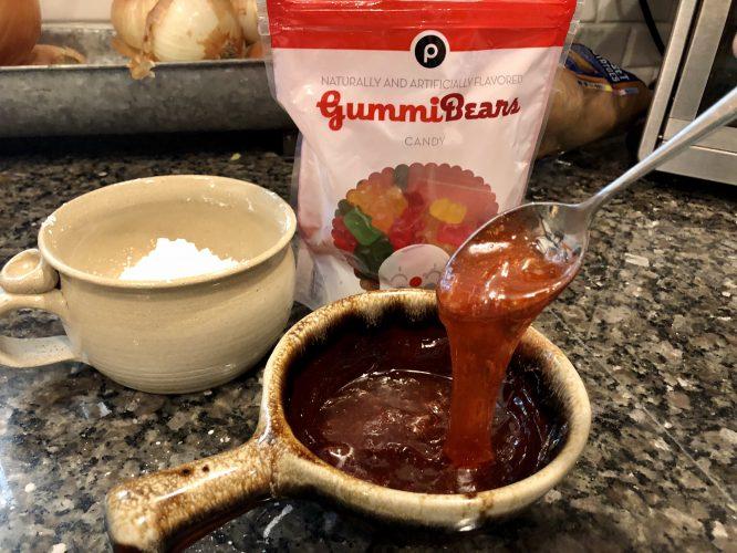gummy bear slime instructions