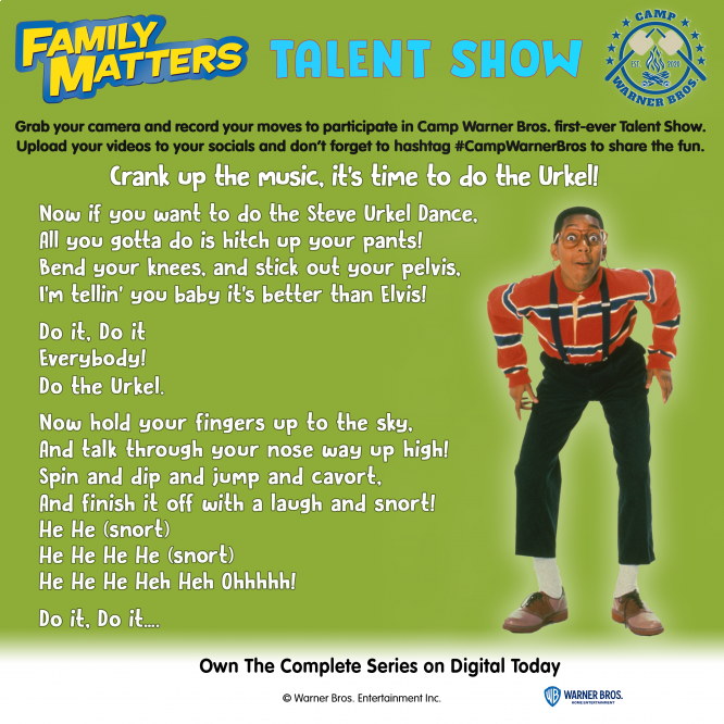 do the urkel dance directions