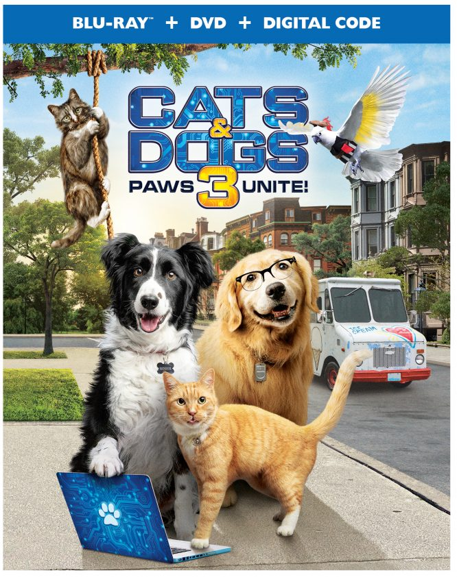 cats & Dogs 3 Paws Uniter DVD box cover