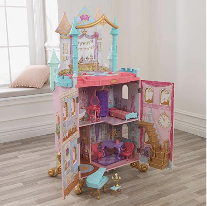 giant princess dollhouse for Disney gift idea
