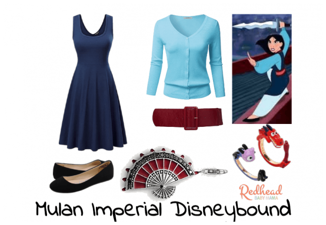 mulan imperial disneybound