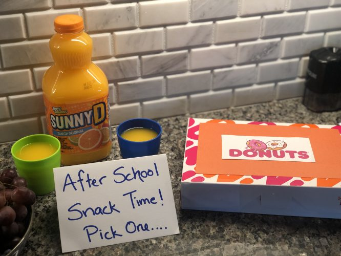 sunnyd snack time prank for parents