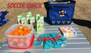 What do you bring for snack to your kids' soccer games? Here are a few ideas!